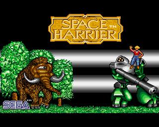 SpaceHarrier Amiga Edit 001
