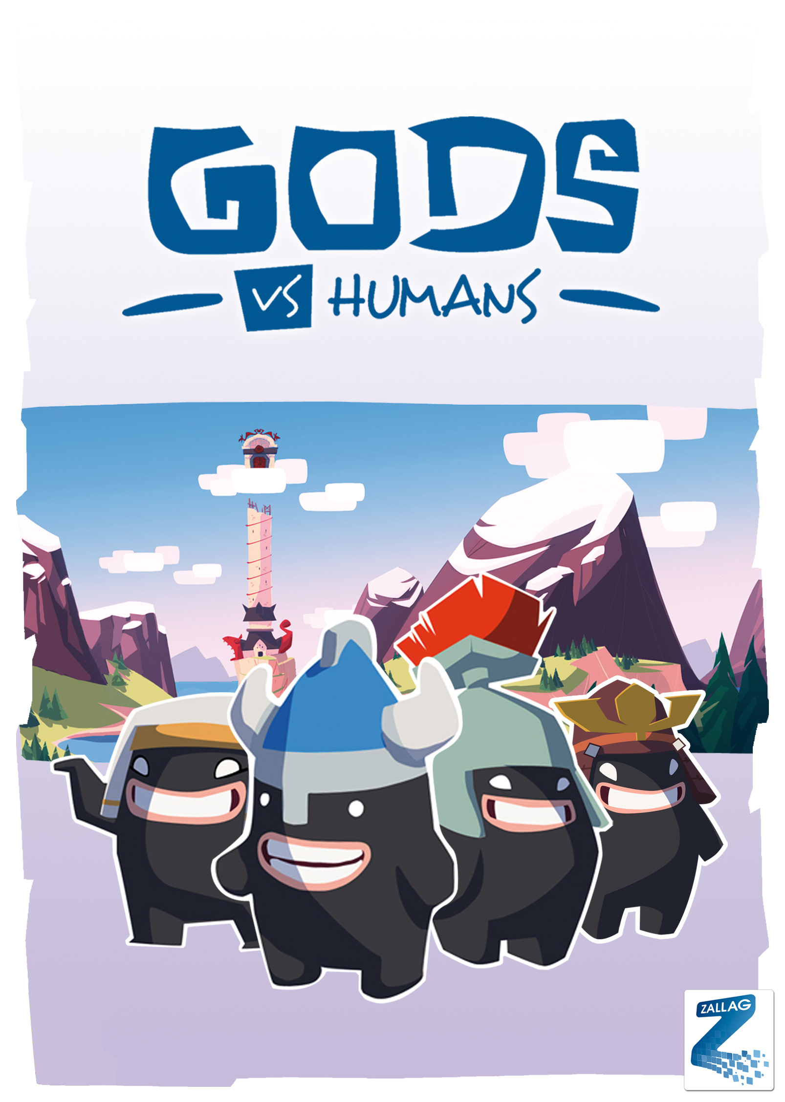 Gods vs Humans WiiWare Jaquette