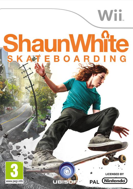 ShaunWhiteSkateboarding Wii Jaquette