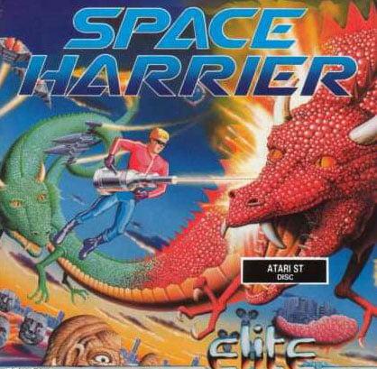 Space Harrier AtariST Jaquette