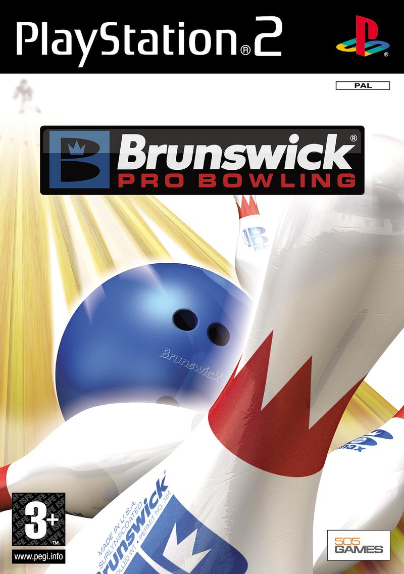 BrunswickProBowling PS2 Jaquette