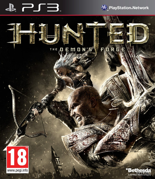 Hunted-TheDemon-sForge PS3 Jaquette 002
