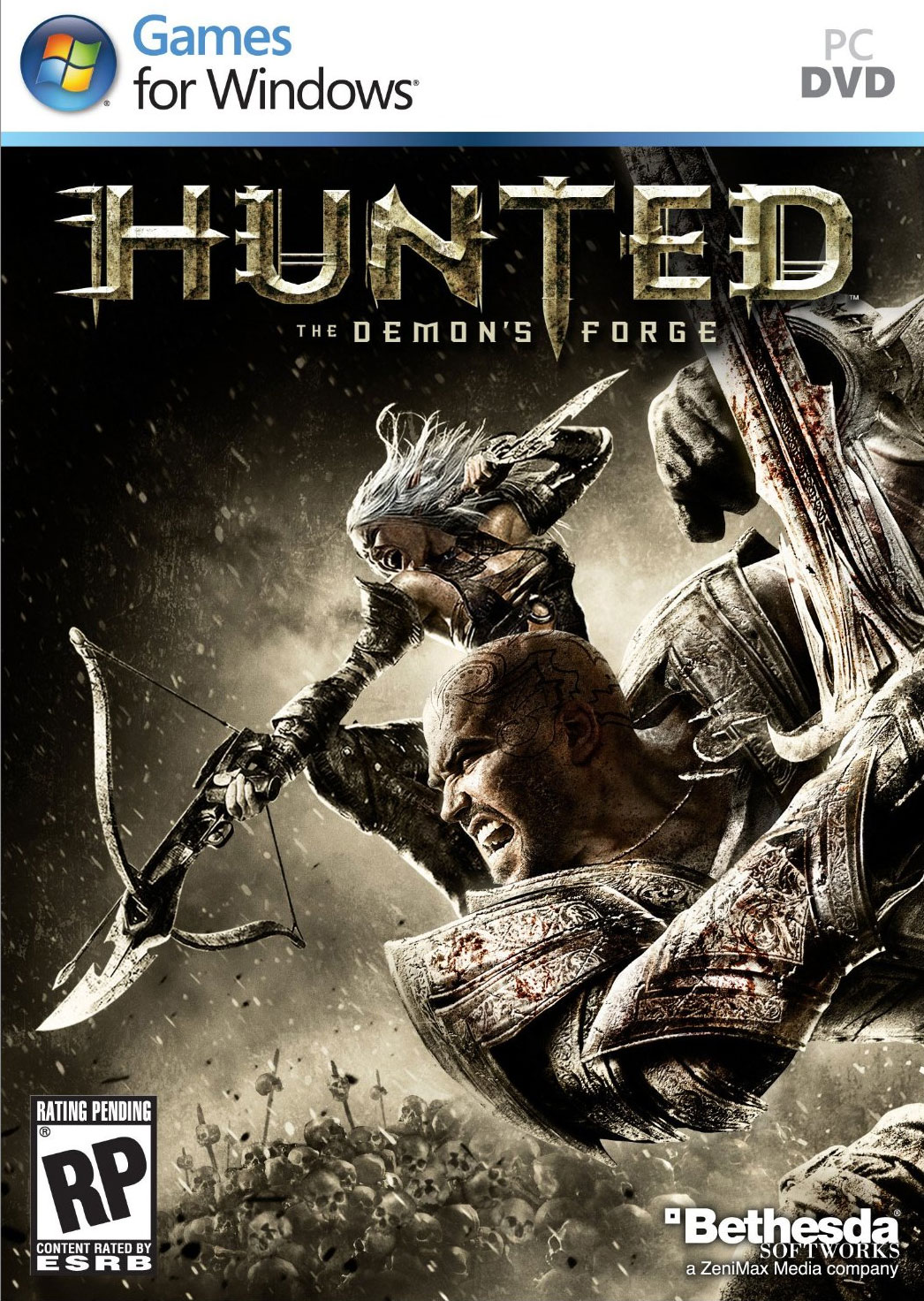 Hunted-TheDemon-sForge PC Jaquette 001