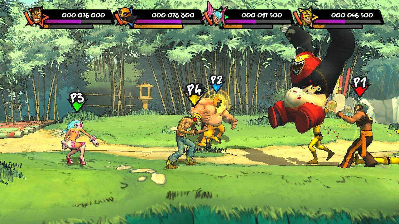Lucha-Fury XBLA Editeur 002