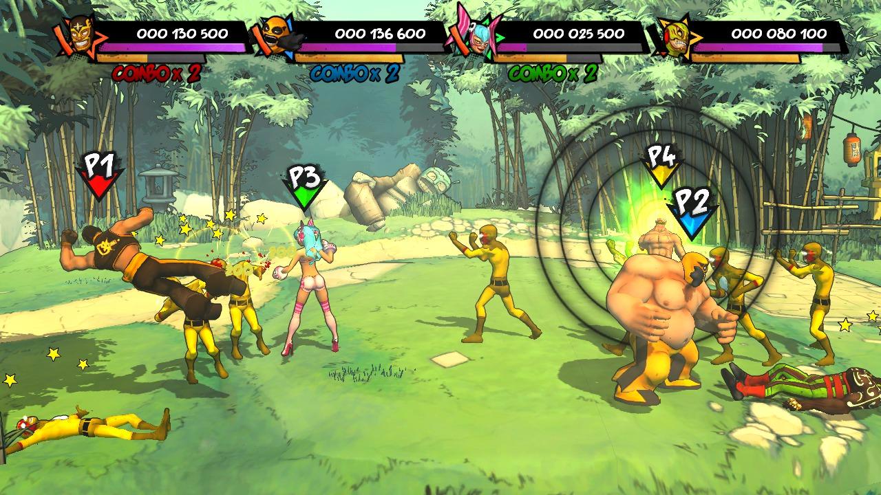 Lucha-Fury XBLA Editeur 003
