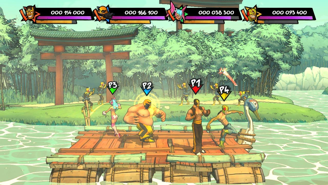 Lucha-Fury XBLA Editeur 006