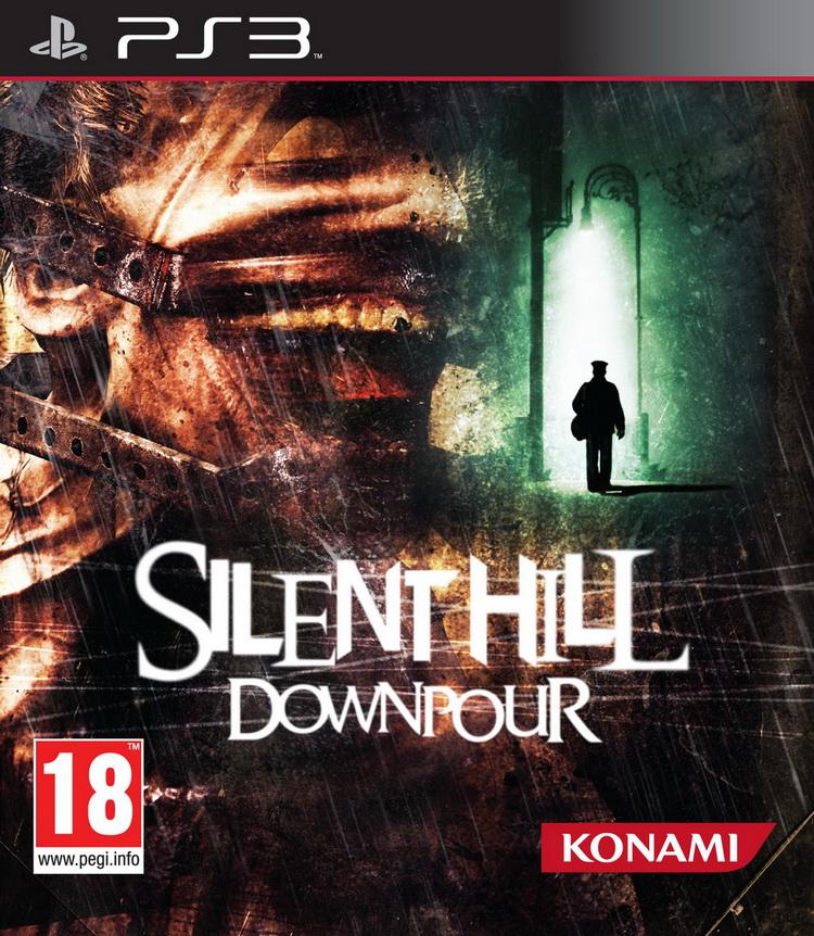 SilentHill-Downpour PS3 Jaquette 001