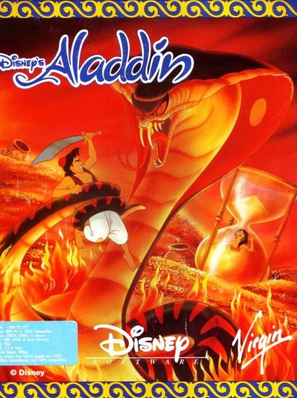 Aladdin PC Jaquette