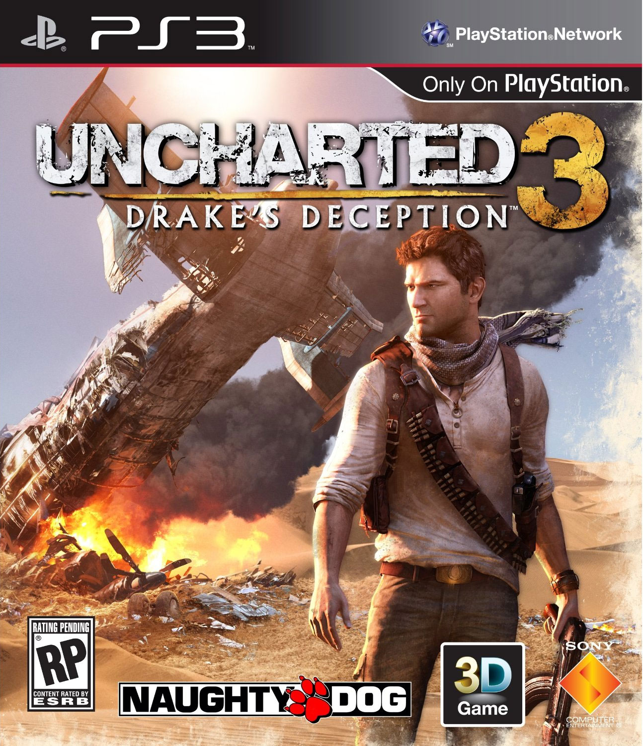 Uncharted3-Drake-sDeception PS3 Jaquette 003