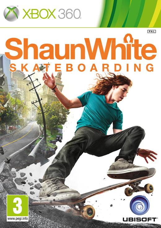 ShaunWhiteSkateboarding X360 Jaquette
