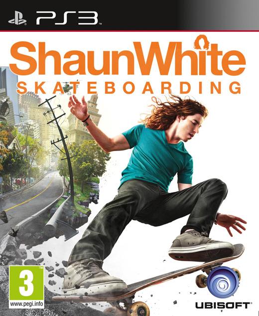 ShaunWhiteSkateboarding PS3 Jaquette