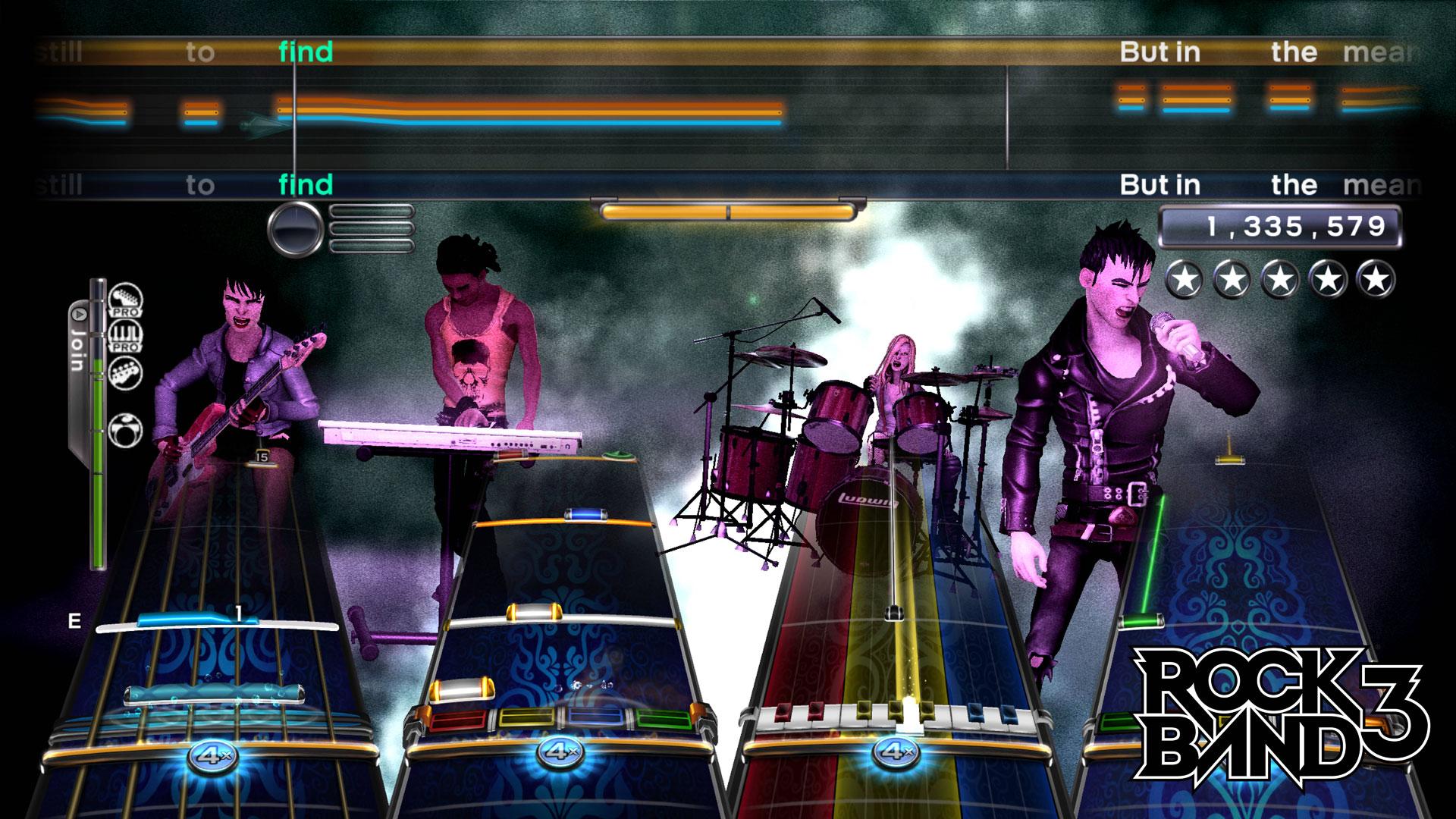 RockBand3 Multi Test 002