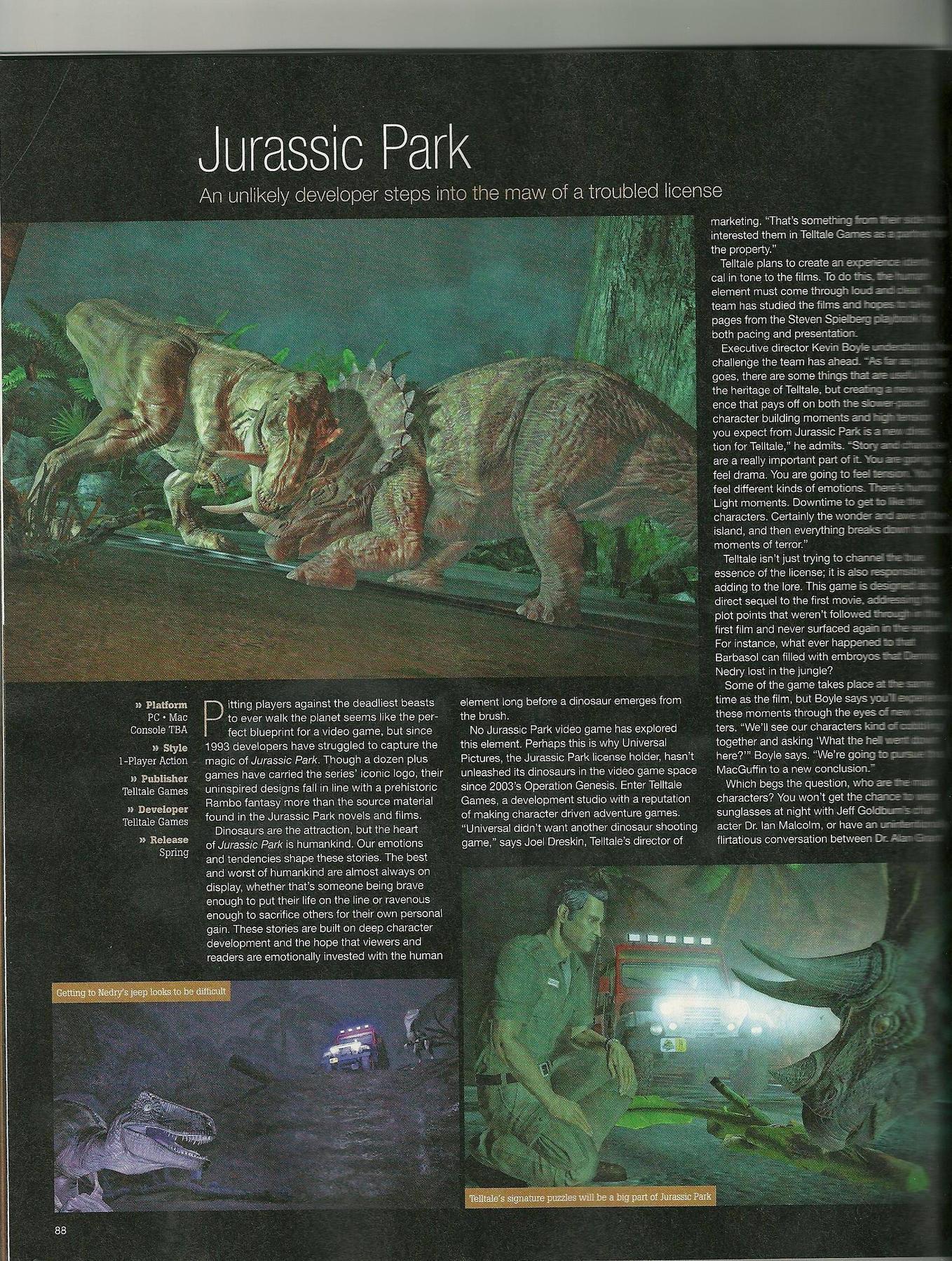 Jurassic Park Saison1 GI1