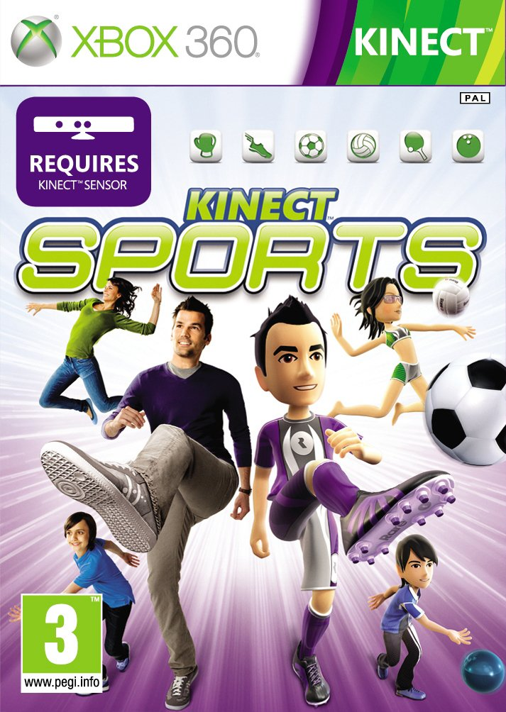 Kinect Sports Jaquette