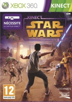 Kinect-StarWars 360 Jaquette 001