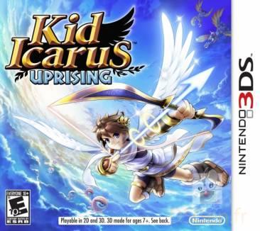 KidIcarusUprising 3DS Jaquette 001