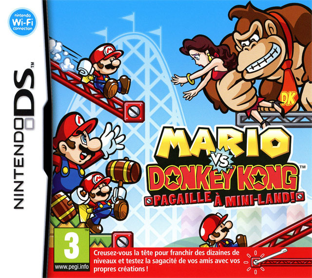 MarioVs.DonkeyKong-PagailleaMini-Land- DS Jaquette 002