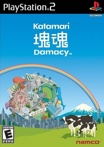 KatamariDamacy PS2 Jaquette 002