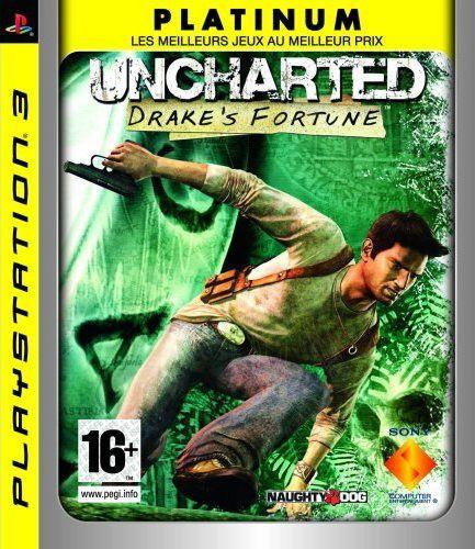 UnchartedDrakeFortune PS3 JaquettePlatinum