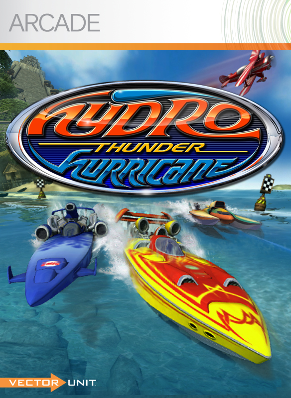 Hydro Thunder Hurricane XLA Jaquette
