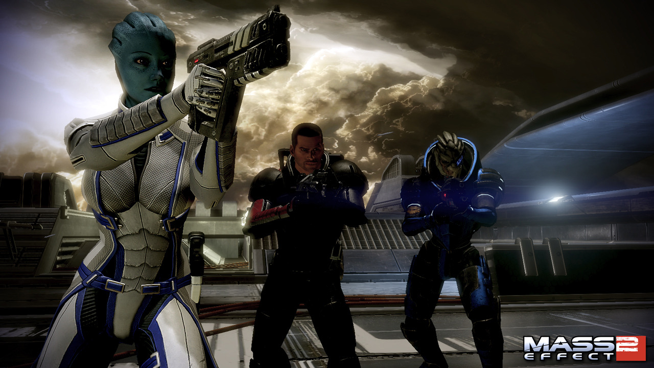 mass effect 2 lair of the shadow broker Multi edit007