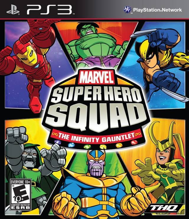 Marvel Super Hero Squad : the Infinity Gauntlet