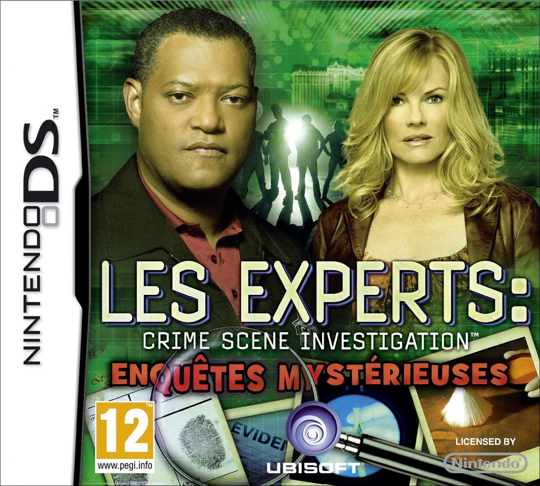 LesExperts EnquetesMysterieuses DS Jaquette