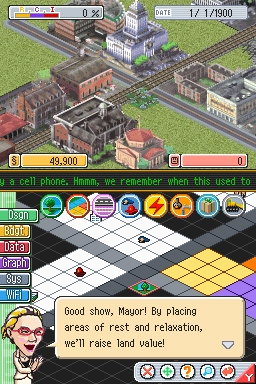 SimCityDS DS Editeur 006