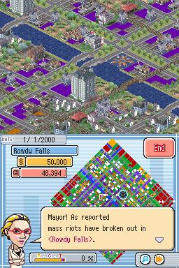 SimCityDS DS Editeur 012