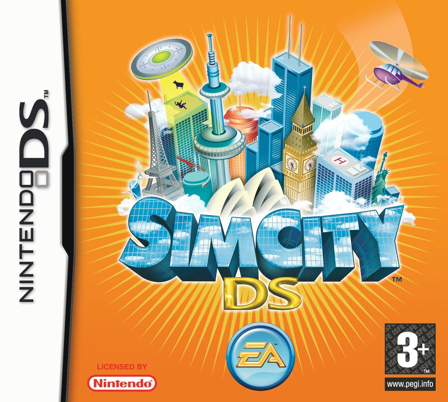 SimCityDS DS jaquette 001