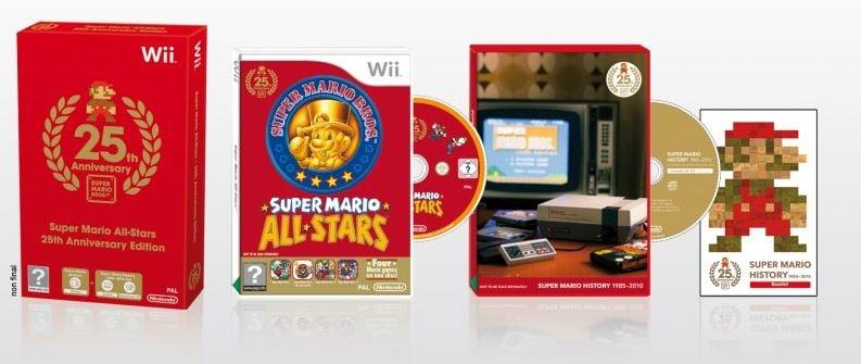 Super Mario All Stars 25 ans
