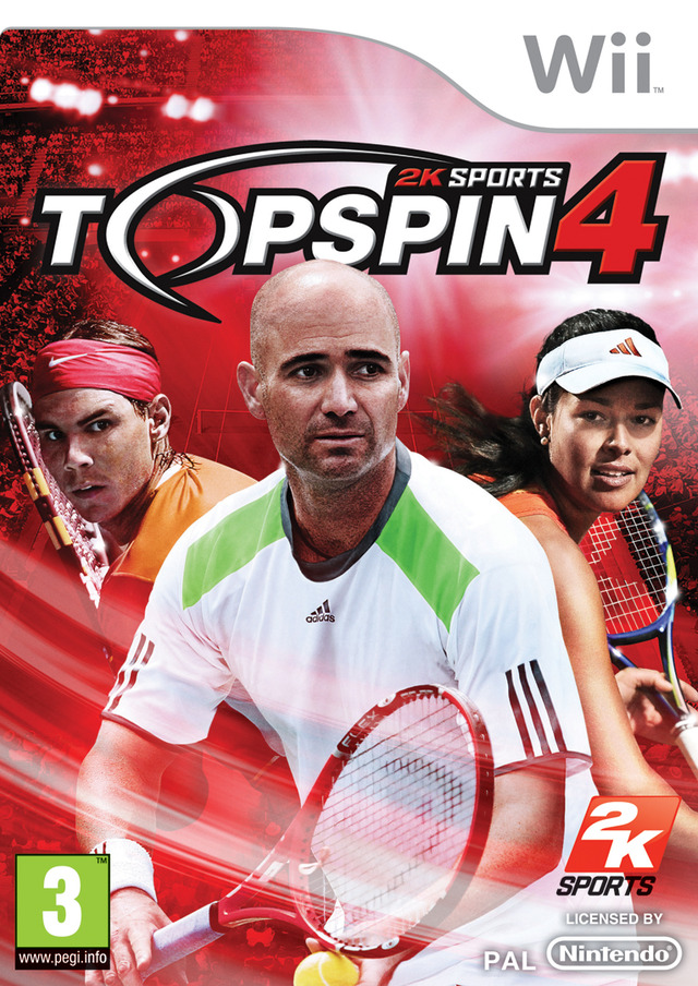Top Spin 4 PAL Wii [MULTI5] [FR] (Exclue) [FS]