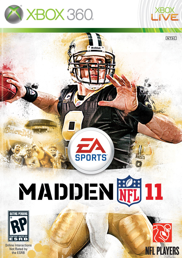 Madden NFL 11 Xbox 360 Jaquette