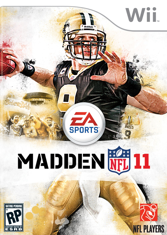 Madden NFL 11 Xbox Wii Jaquette