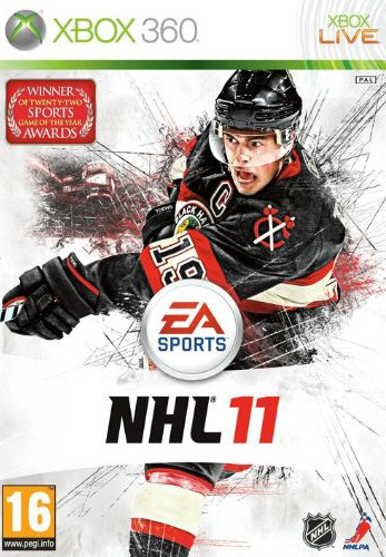 NHL11 Xbox360 Jaquette