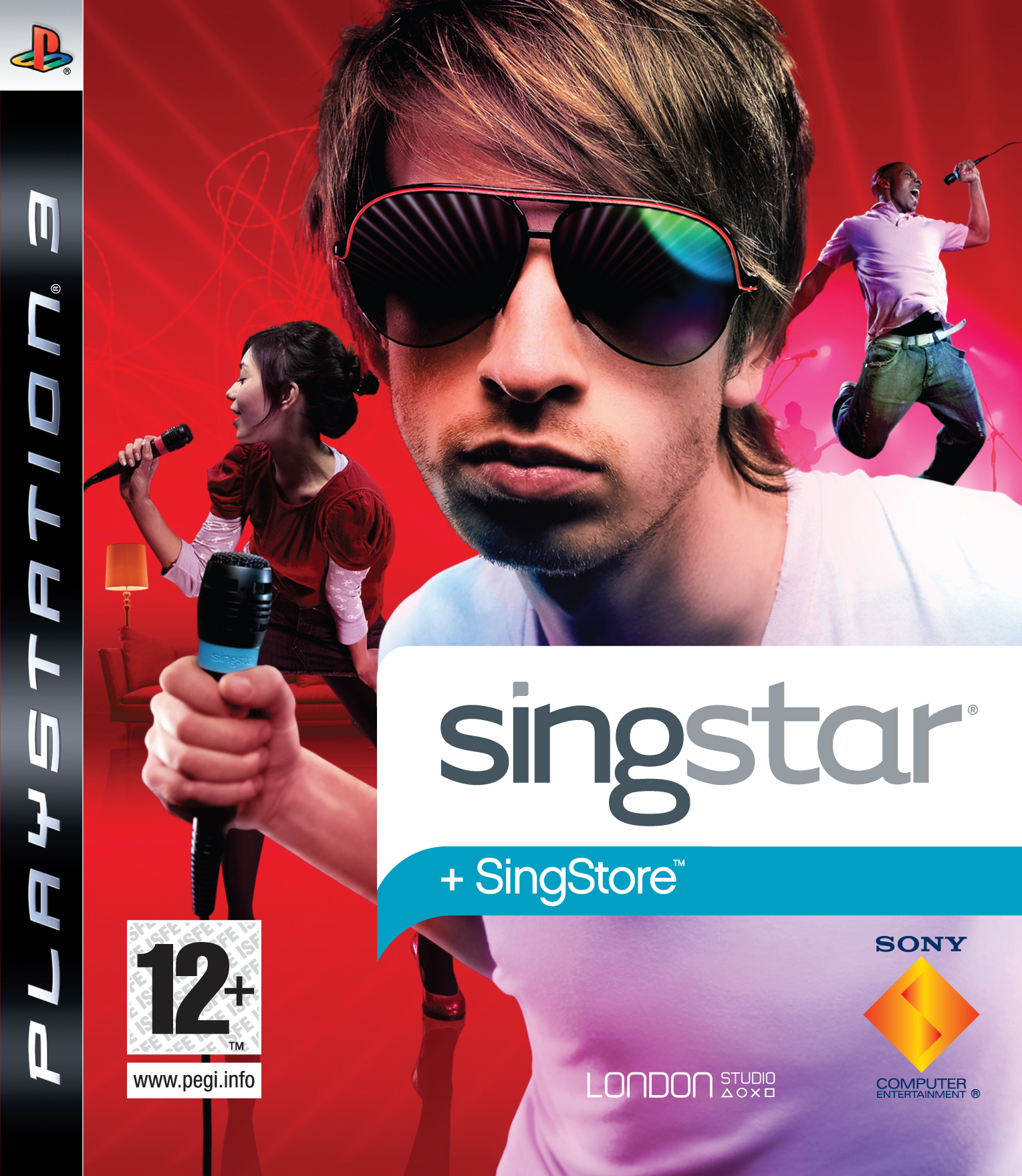 SingstarPS3 PS3 jaquette