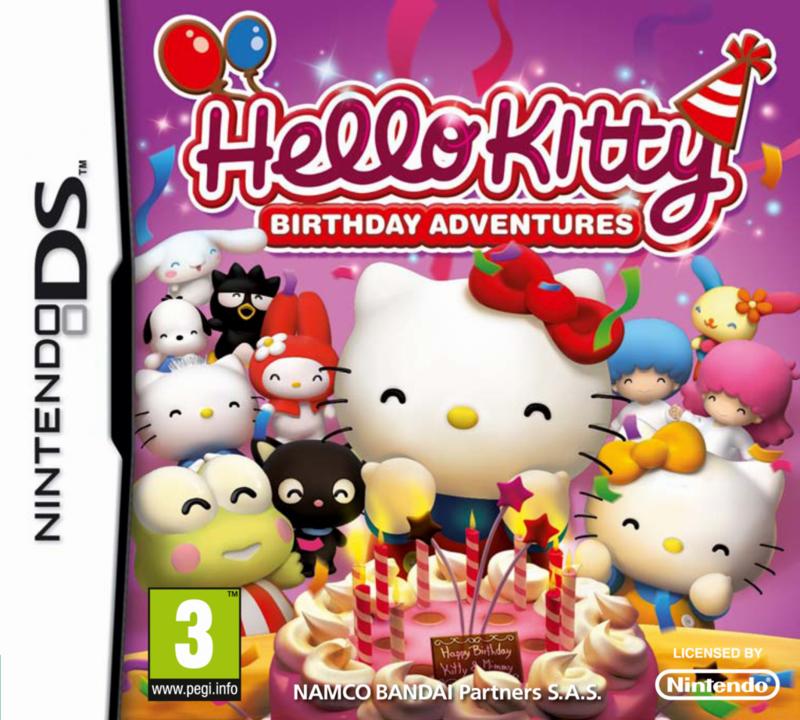 HelloKittyBirthdayAdventure DS Jaquette