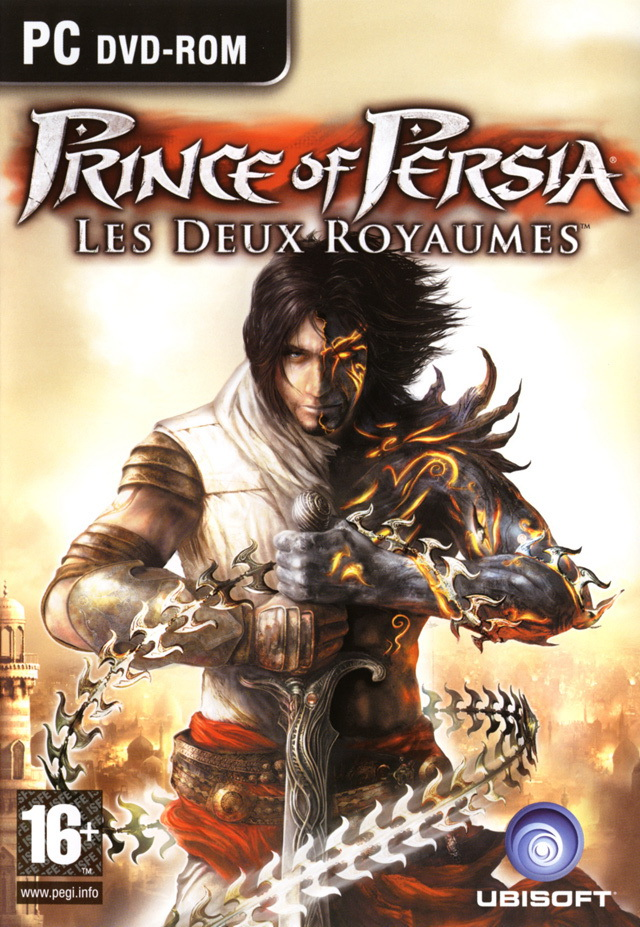 Prince of Persia Les 2 Royaumes PC jaquette