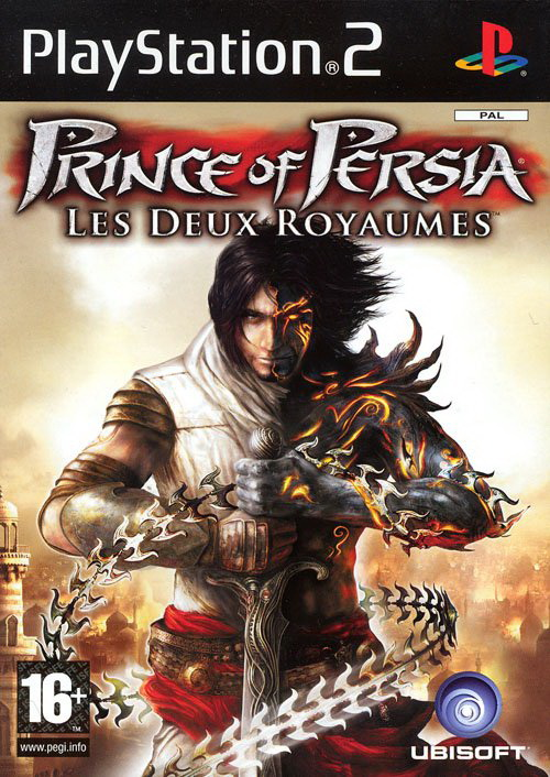 Prince of Persia Les 2 Royaumes PS2 jaquette