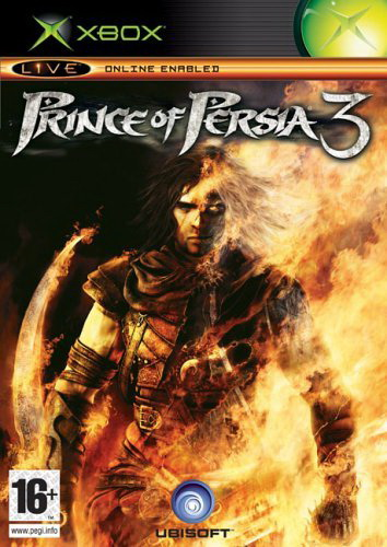 Prince of Persia 3 Xbox jaquette