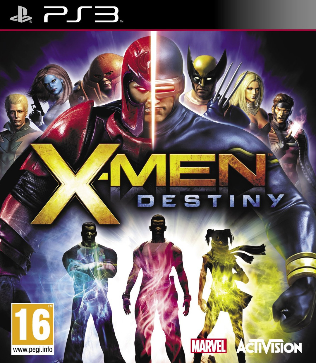 X-Men-Destiny PS3 Jaquette 001