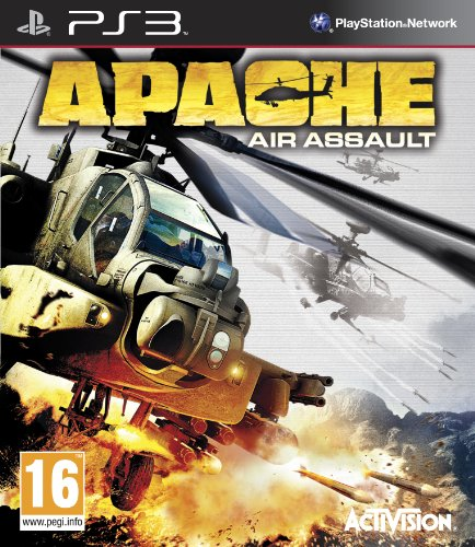 Apache Air Assault PS3 jaquette