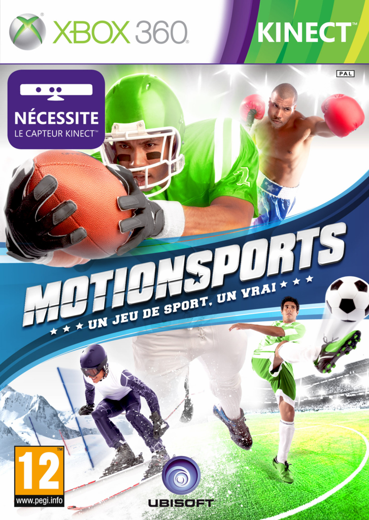 MotionSports Xbox 360 jaquette
