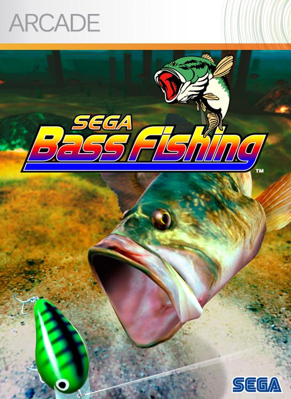SegaBassFishing XBLA jaquette