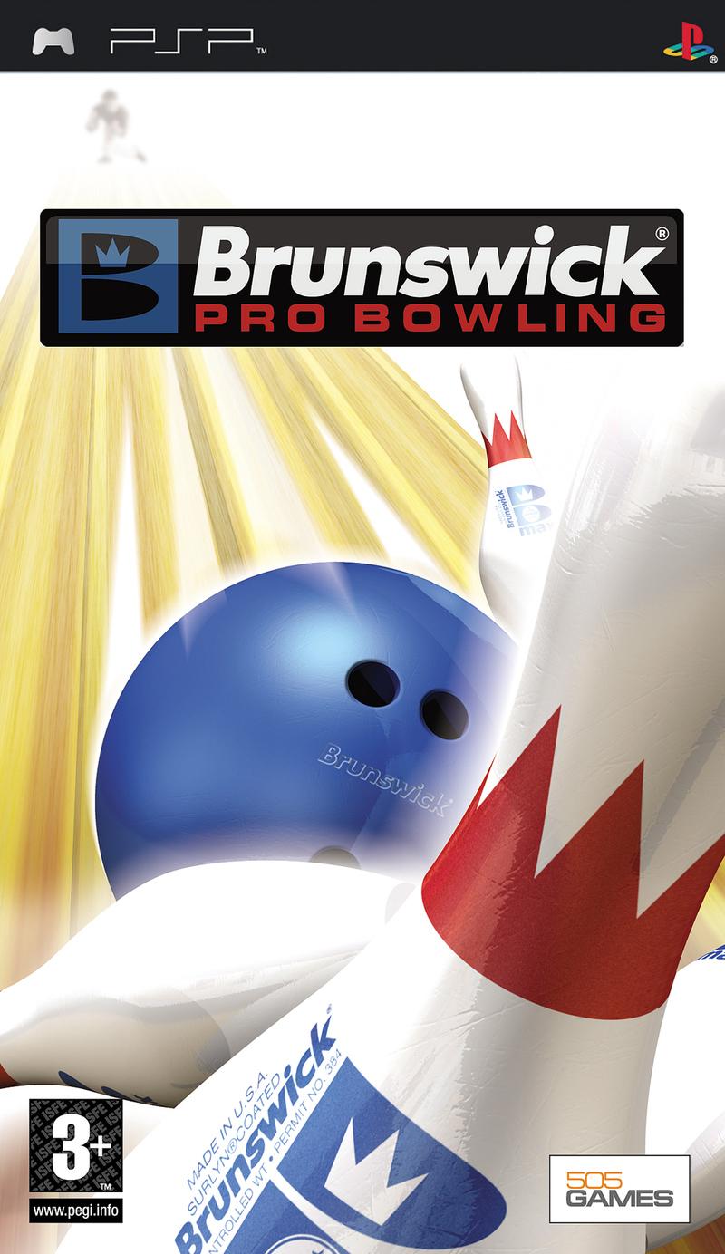 BrunswickProBowling PSP Jaquette