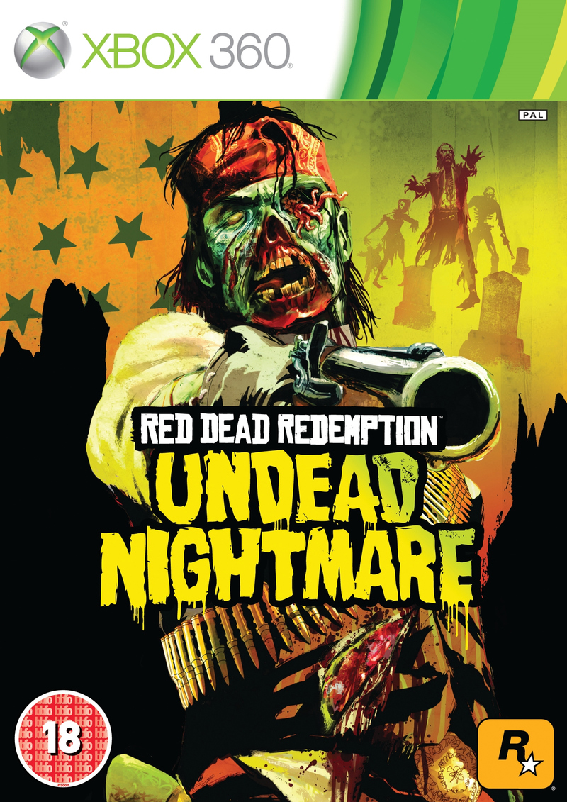 Red Dead Redemption Undead Nightmare X360 Jaquette
