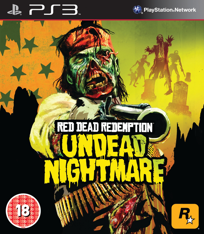 Red Dead Redemption Undead Nightmare PS3 Jaquette