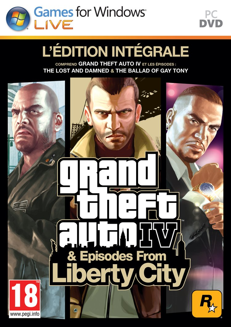 Grand Theft Auto IV & Episodes From Liberty City