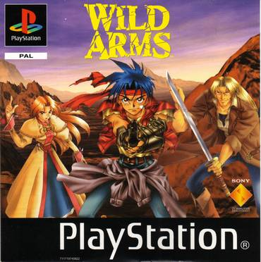Wild Arms PS Jaquette