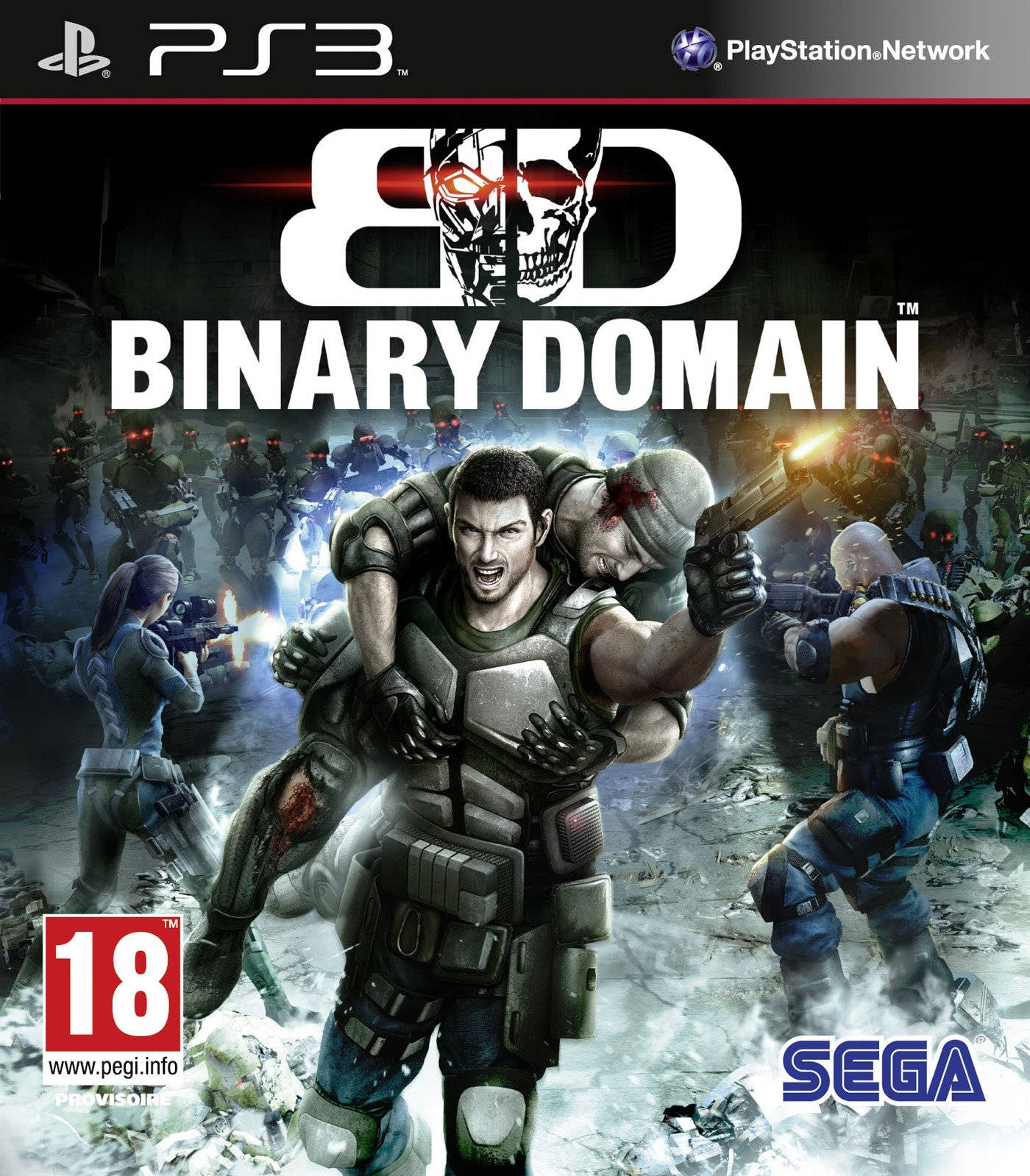 BinaryDomain PS3 Jaquette 001